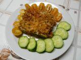 Zapečené těstoviny s masem a cuketou recept