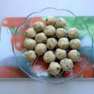 Strouhankové knedlíčky recept