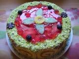 Pudingový dort recept