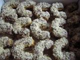 Rohlíčky plné oříšků recept
