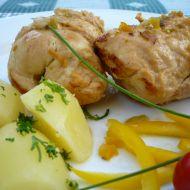 Kuřecí rolky se sýrem recept