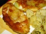 Patizon s cesnakovymi zemiakmi recept