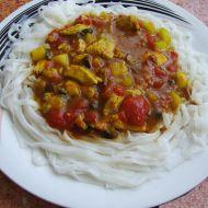 Kuřecí kari s cuketou a rajčaty recept