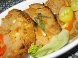 Sekaná s řapíkatým celerem, plněná bílou klobásou recept ...