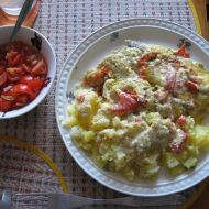 Filé na rajčatech recept