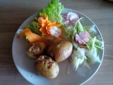 Zapečené plněné brambory se sojovým masem recept  TopRecepty ...