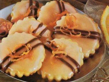 Pomerančové sušenky  mamky recept
