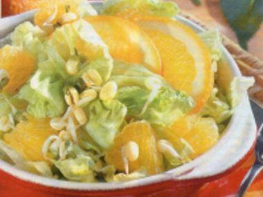 Ledový salát s výhonky mungo
