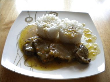Divočák s rýži Basmati