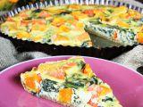 Celozrnný koláč s dýní a špenátem recept