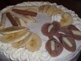 Lehký banánový dort recept