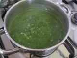 Špenátová polévka ŽLUČNÍKOVÁ recept