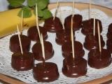 Bánánovočokoládové jednohubky recept