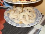 Hned křehké vanilkové rohlíčky recept