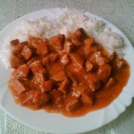Salámový guláš recept