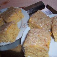 Meruňkový koláč s polevou recept