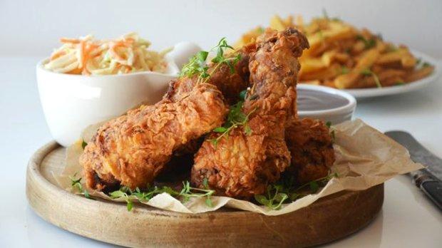 Americké smažené kuře