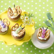 Limetkový cupcake ala motýl recept