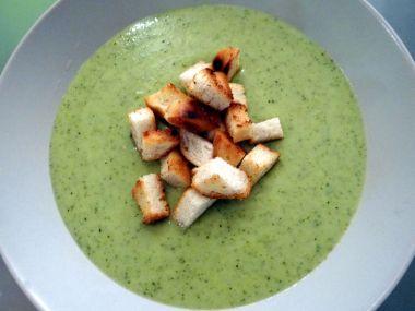 Brokolicovo bramborová polévka