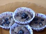 Zdravé celozrnné borůvkové muffiny recept