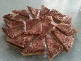 Ořechové trojúhelníčky recept