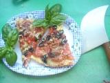 Pizza se sardelkami a šunkou recept