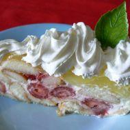 Jahodový dort recept
