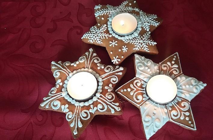 Perníkové svícínky (nejen pro zizalu) recept
