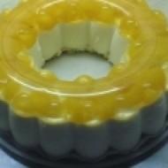 Nepečený tvarohovo-pudinkový dort recept