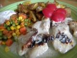 Kuře zalité šlehačkou... recept