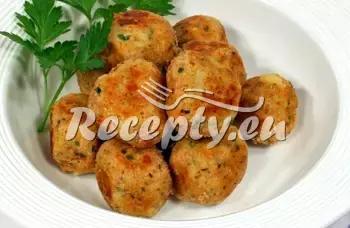 Zapečené hermelínové karbanátky recept  mleté maso