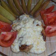Kuřecí prsíčka v sýrovém přelivu recept