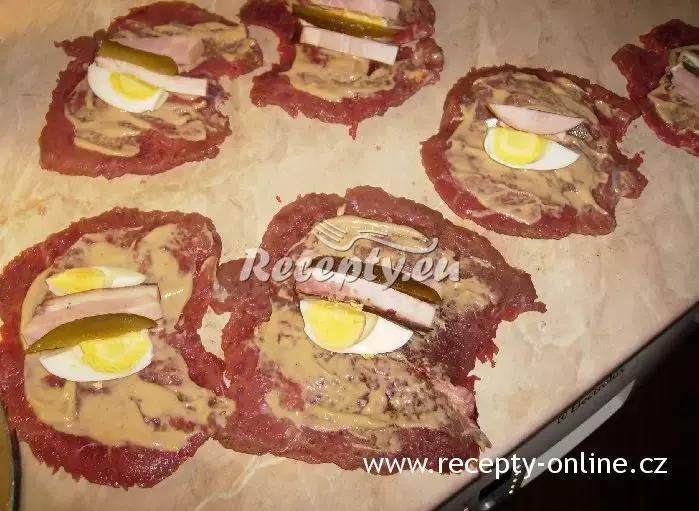 Španělské ptáčky s vlašskými ořechy recept  vepřové maso ...