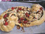 Plnený slaný koláč recept