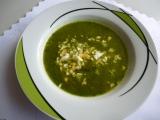 Sladkokyselá salátová polévka s vejcem recept
