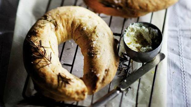 Rozmarýnový chléb