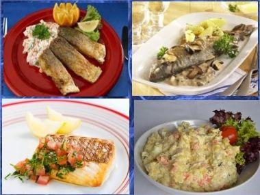 Štědrovečerní ryba na 3 způsoby + salát