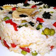 Eintopf z dušené rýže a dubáků recept
