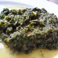 Špenátová příloha recept