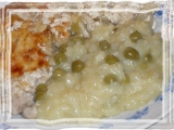 Italské rizoto s rozmarýnem a hráškem recept