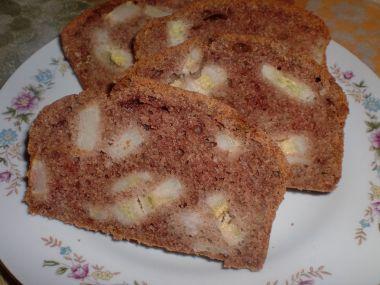 Kakaový chlebíček s banány