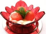 Cottage s melounem a medovo-citronovým přelivem recept ...