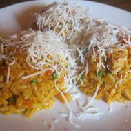 Zeleninové rizoto s kuřecím masem recept