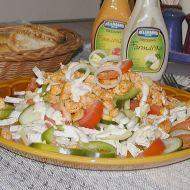 Salát s kuřecím masem recept