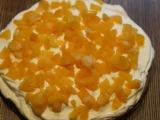 Šlehačkovo  ovocný dort recept