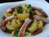Bramborový salát s kuřecím masem recept