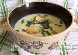 Petrželová polévka s petrželovými lupínky recept