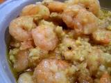 Krevety na zázvoru a česneku recept