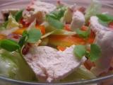 Zeleninový salát s Čerstvým sýrem mexiko a bazalkou recept ...