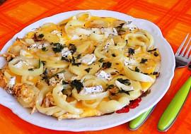 Bramborovo  papriková frittata recept